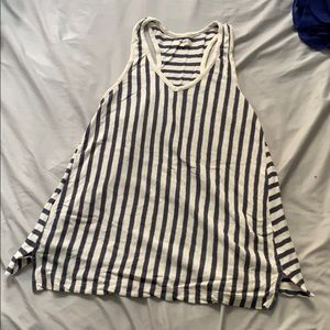 Madewell striped tank top!
